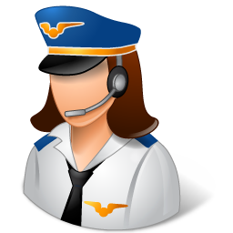 Occupations-Pilot-Female-Light-icon